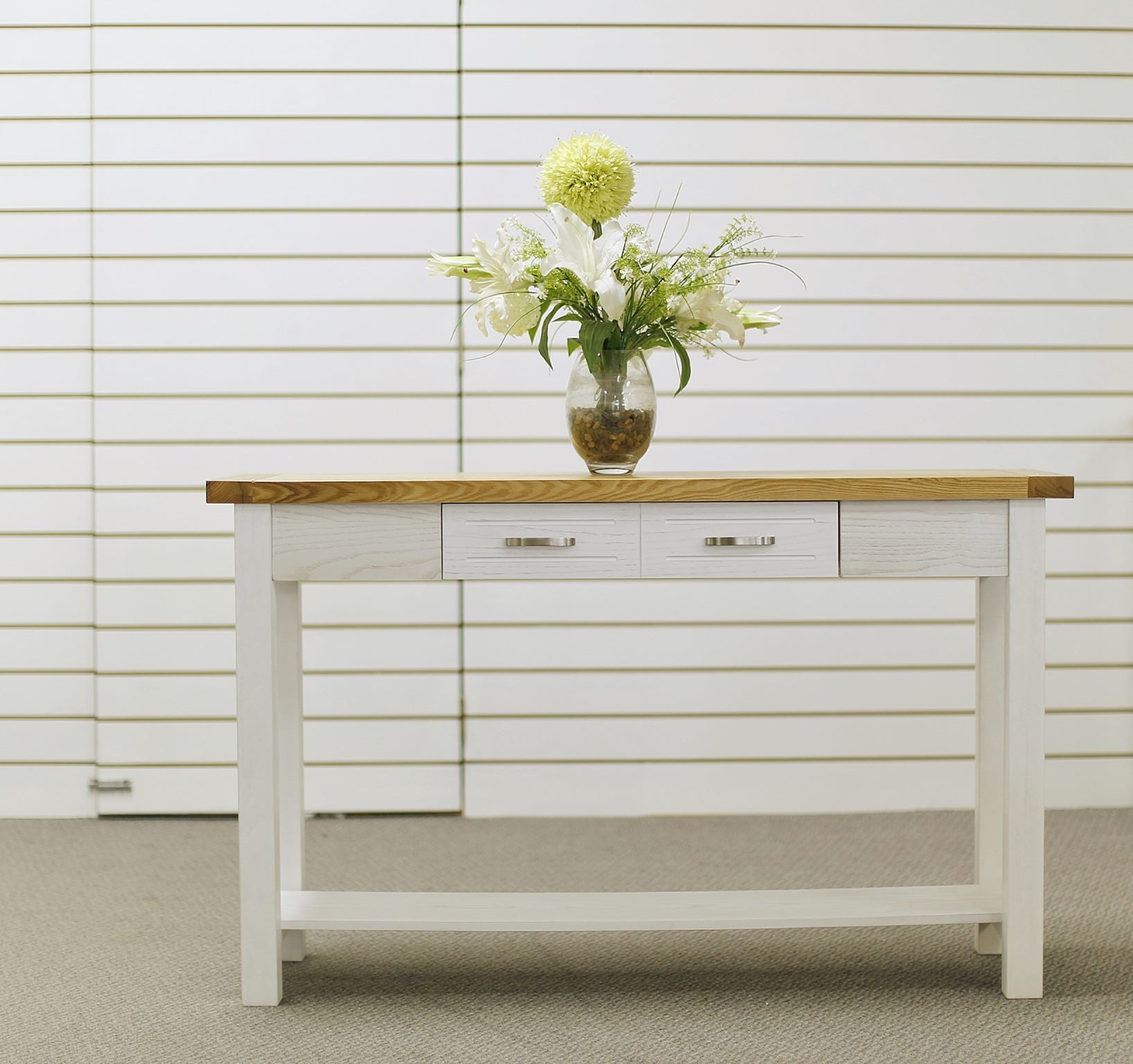 *MG*Arca Solid Wood Hall Table with Drawer , *Special*