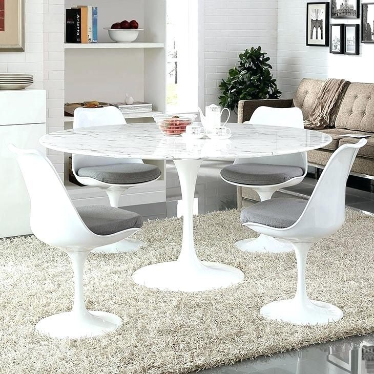 *MG* Replica Marble top Tulip dining table Dia135cm IN STOCK