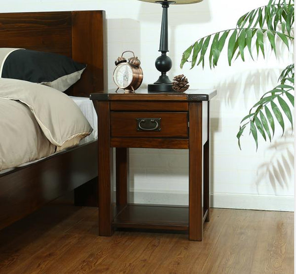 *MG* #219-35 Solid wood Bedside table , 3 color available
