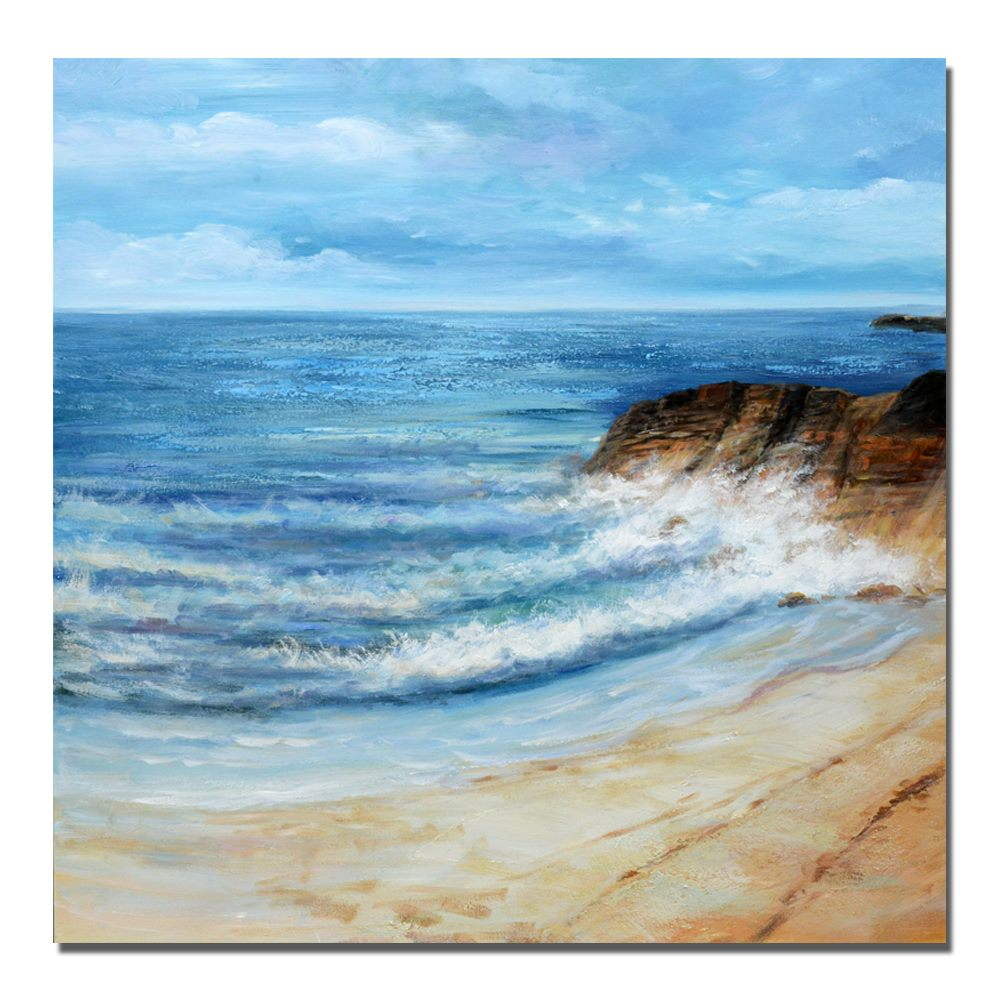 *MG*100% Hand Oil Painting Sea view, Ready to Hang up