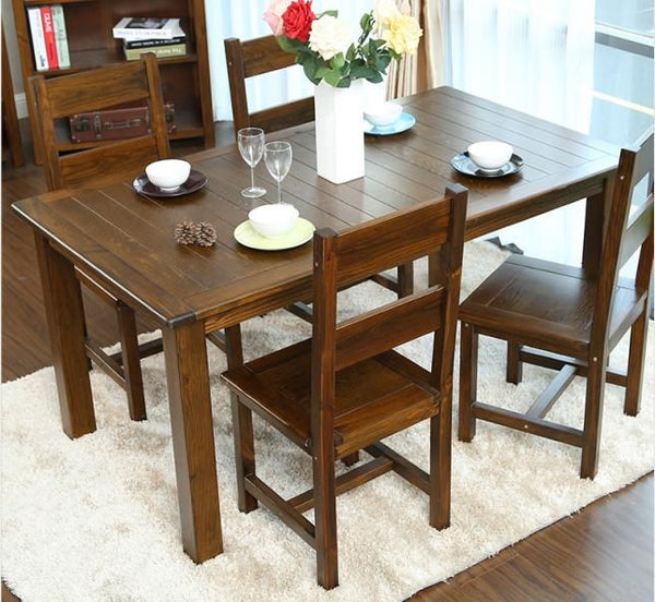 *MG* Solid NZ Pine 7 pcs dining set