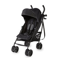 black Summer Infant 3DLite+ stroller