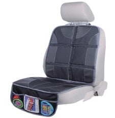 Car seat with car seat protector