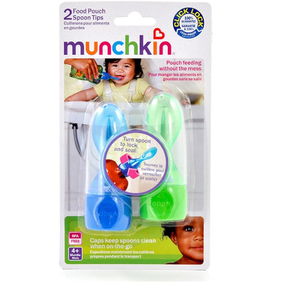 Munchkin Food Pouch Spoon Tips 2/pc
