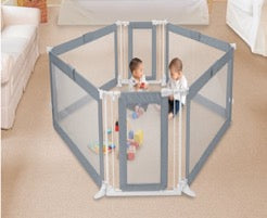 Custom Fit baby gate structured as play pen