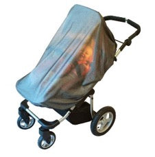 stroller with Jolly Jumper safe net