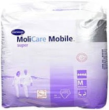Pack of MoliCare Mobile super adult underwear in medium