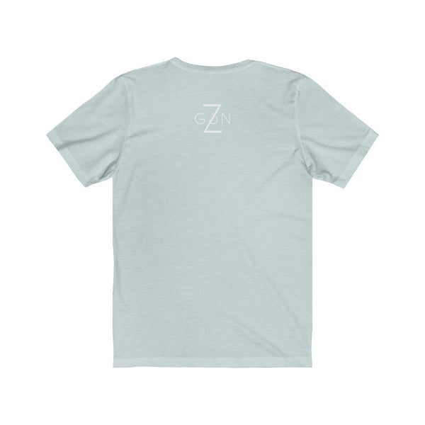 Icy Light Blue Graphic Tee