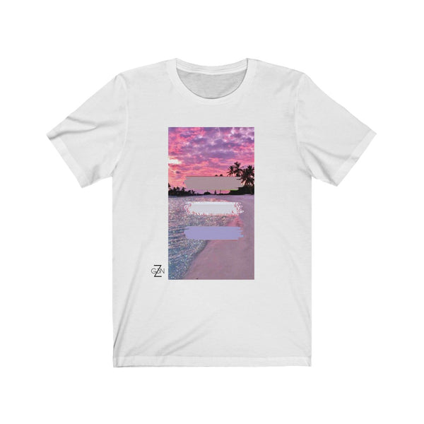 Pink Beach Graphic Tee