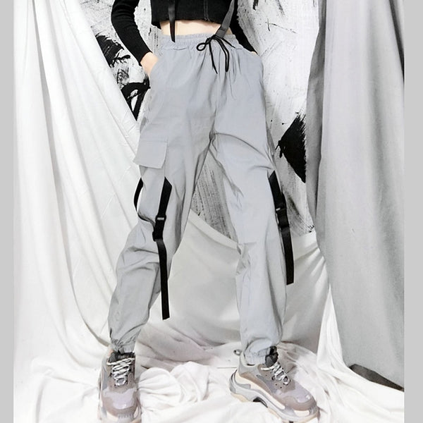 RILEY Reflective Cargo Pants