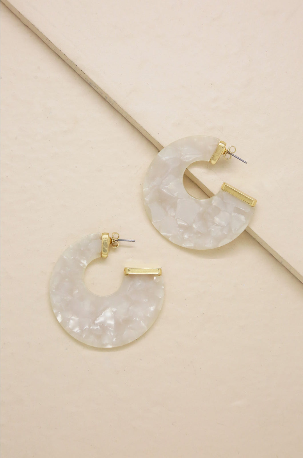[Free Shipping] 18k Gold Rosarito Earrings