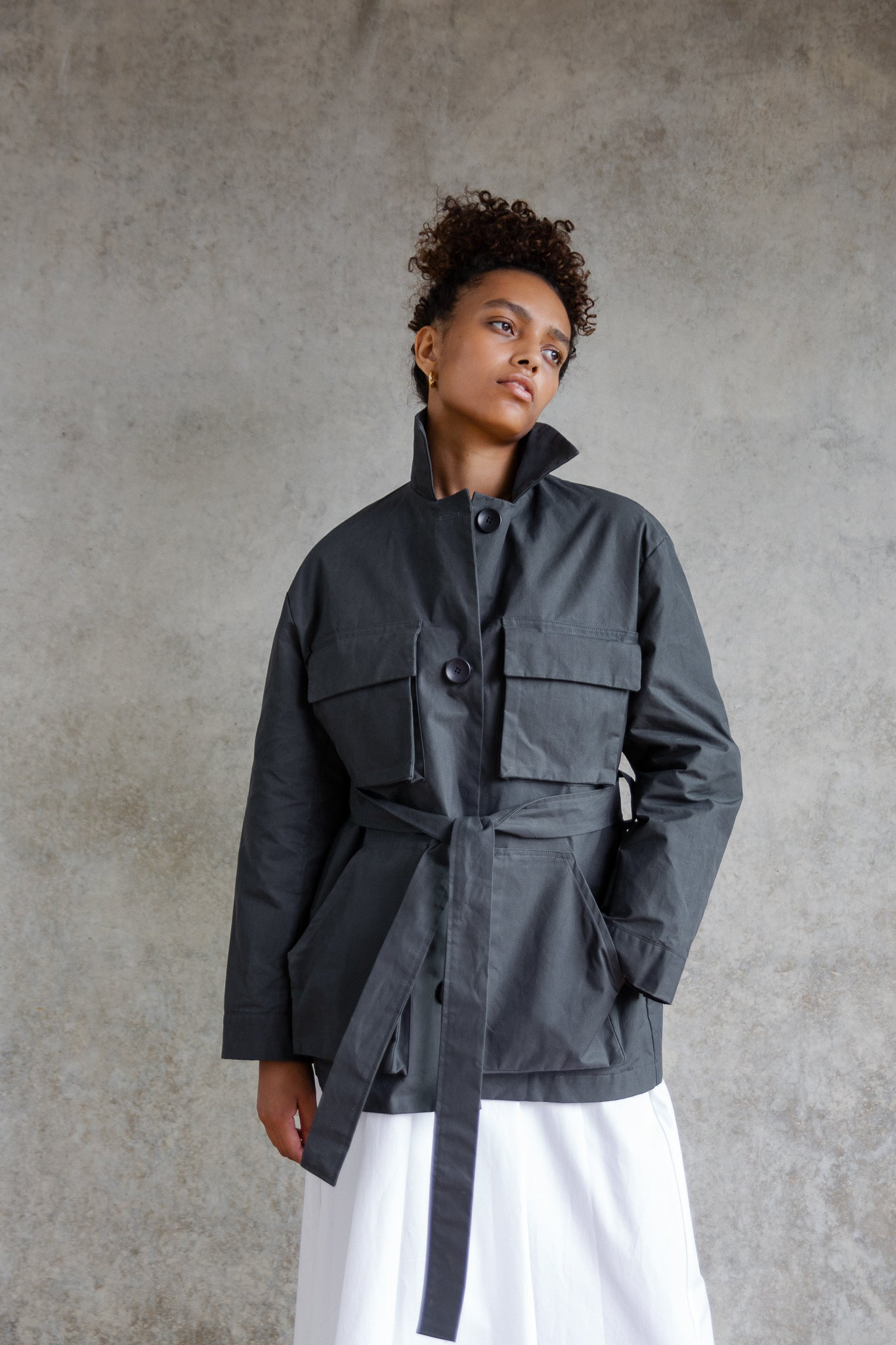 The Mid-length Commuter Jacket