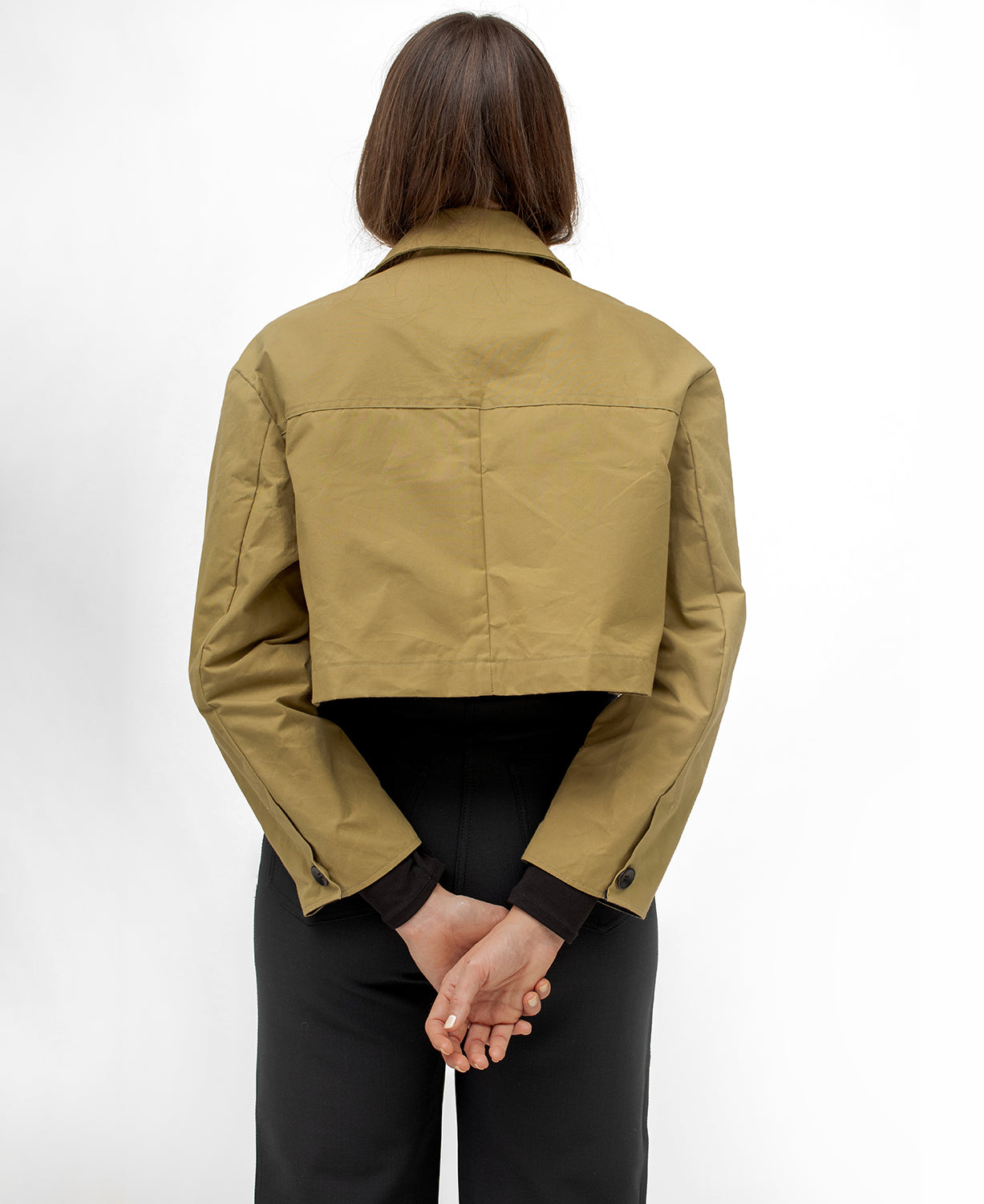The Cropped Commuter Jacket #2
