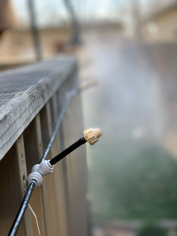 Patio Misting Kit