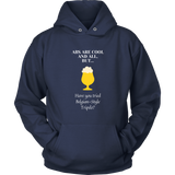 CRAFT BEER LOVER FUNNY HOODIE, ABS ARE COOL AND ALL, BUT... HAVE YOU TRIED BELGIAN-STYLE TRIPELS?