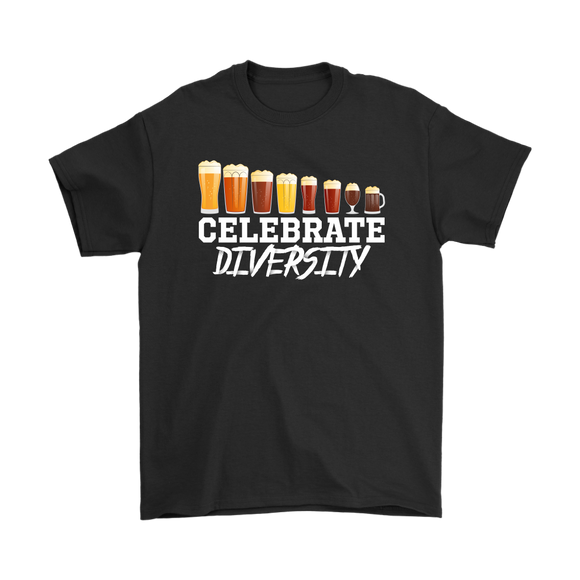 BEER LOVER FUNNY T-SHIRT, CELEBRATE DIVERSITY