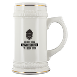 CRAFT BEER LOVER FUNNY BEER STEIN, YOU BET YOUR FIZZY LIGHT LAGER I'M A BEER SNOB