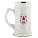 CRAFT BEER LOVER FUNNY BEER STEIN, CRAFT BEER CRITIC, BRIBING IS ENCOURAGED