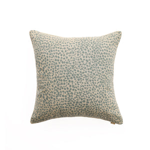 Animal Print Powder Blue Pillow