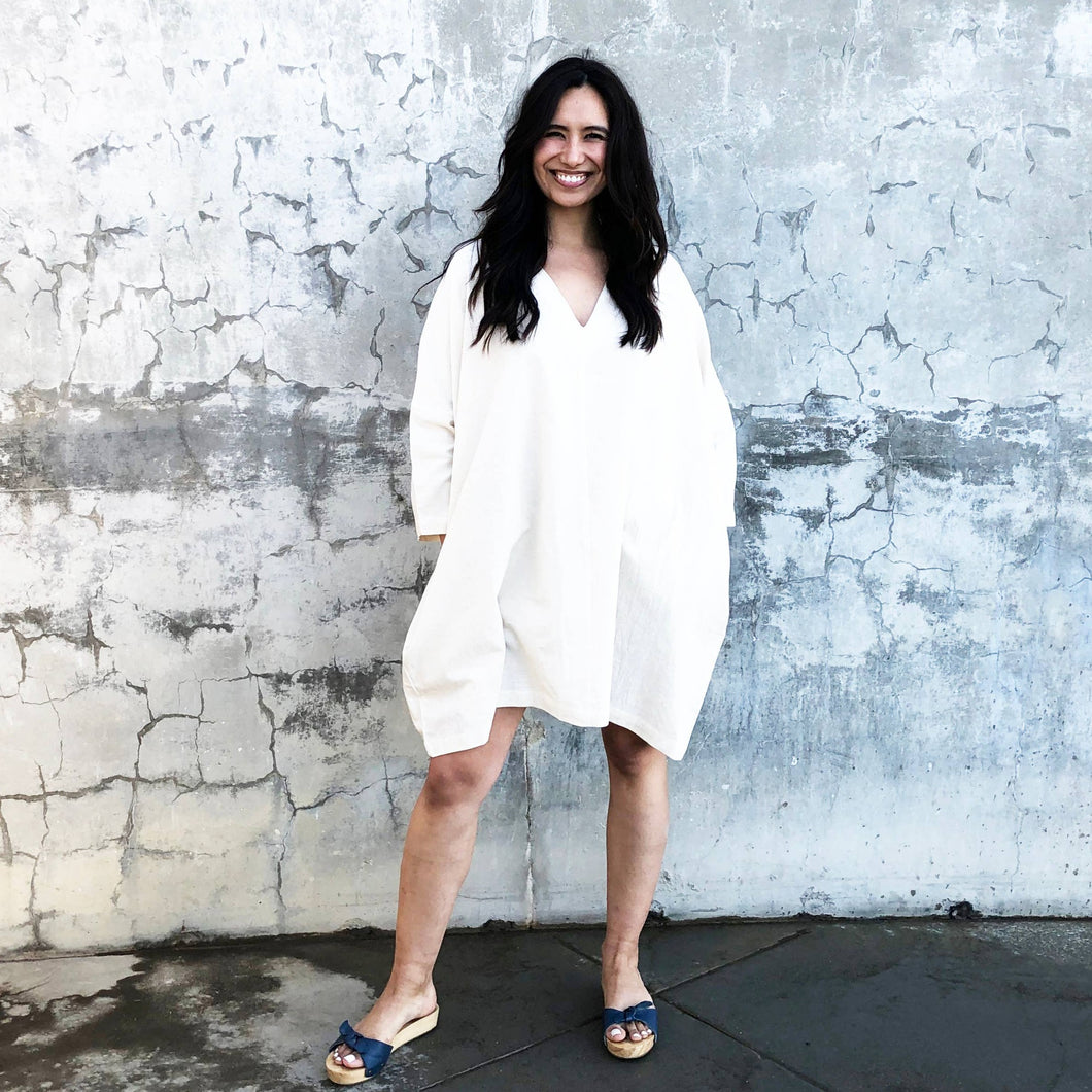 Natural White Dress/Tunique