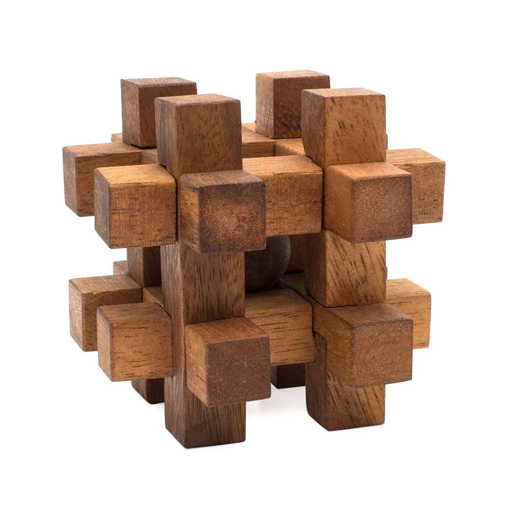 Lock It Up Wooden Puzzle