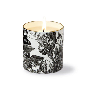 The Country Garden Ceramic Luxury Candle