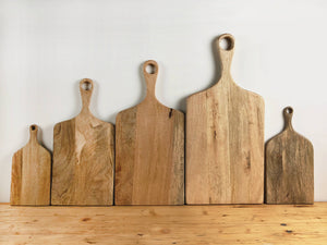 "7.5"" Wood Cutting Board"