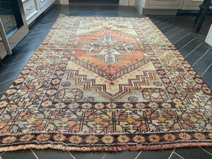 "Vintage Turkish Rug - ""Meredith"""