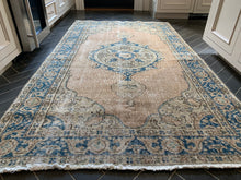"Load image into Gallery viewer, Vintage Turkish Rug - ""Julia"""