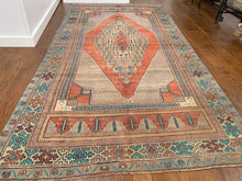 "Load image into Gallery viewer, Vintage Turkish Rug - ""Maria"""