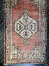 "Load image into Gallery viewer, Vintage Turkish Rug - ""Courtney"""