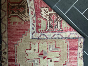 "Vintage Turkish Rug - ""Lillian"""