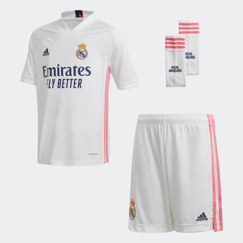 Conjunto Primera equipación Real Madrid 20/21 Junior - Soccer Sports Ibérica
