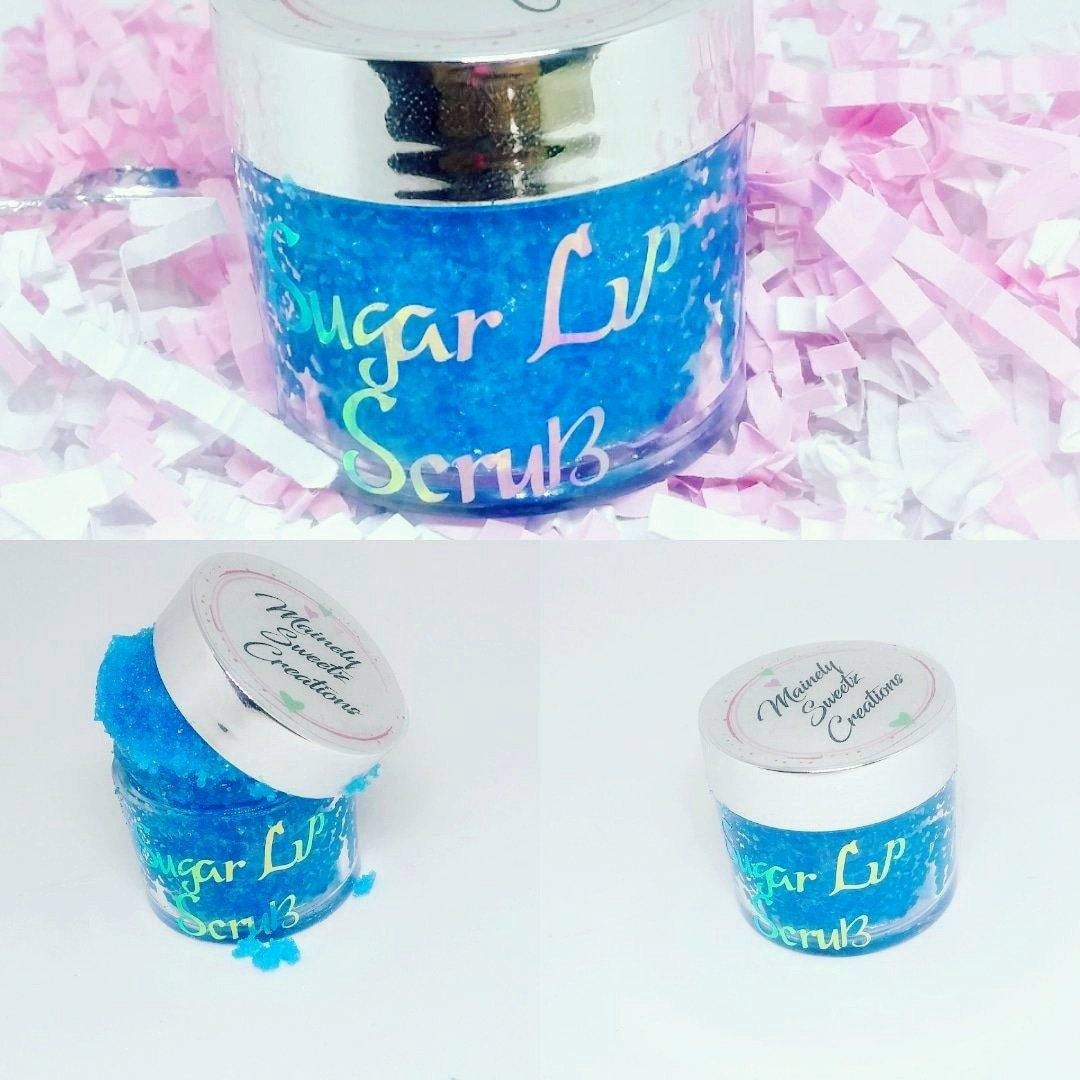 Edible Sugar Lip Scrubs