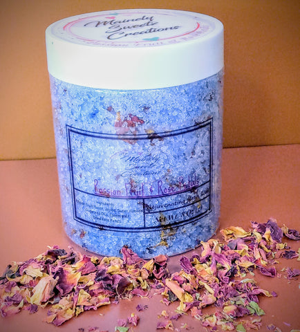 Passion Fruit & Rose Petals Bath Soak