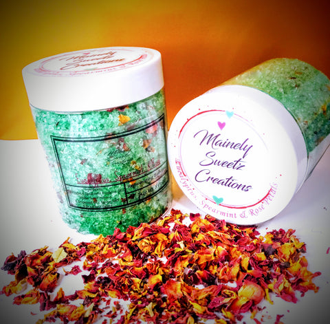 Eucalyptus, Spearmint, & Rose Bath Soak