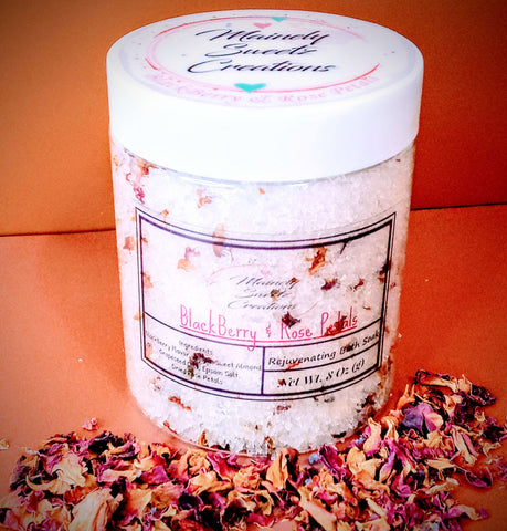 Blackberry & Rose Petals Bath Soak