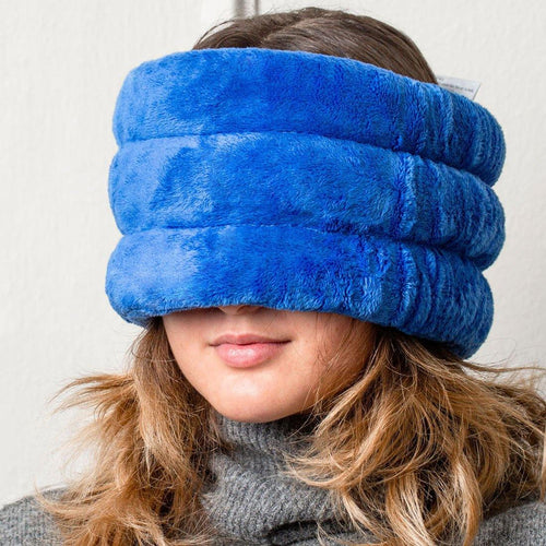 Huggaroo Head and Sinus Wrap Microwavable Heat Pad - Lavender-HHWM1B