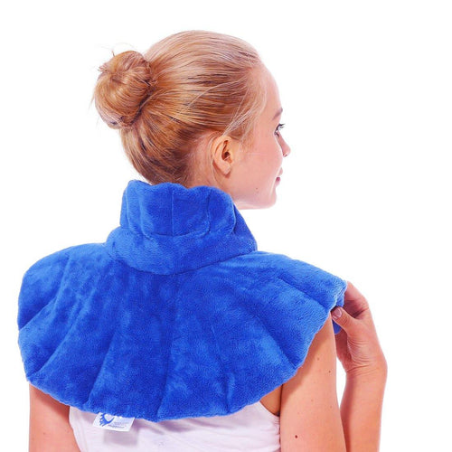 Huggaroo Neck Wrap Microwavable Heating Pad - Original, Lavender-HNWS1B