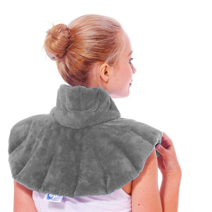 Huggaroo Microwavable Heating Pad - Unscented Neck Wrap, Original-HNWS1GU-855448007353