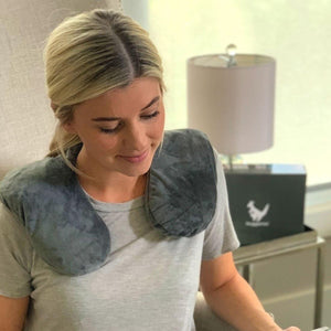 NEW - Huggaroo Washable, Unscented Neck Wrap Microwavable Heating Pad