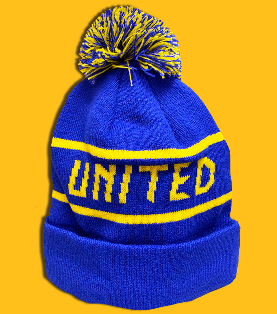 Hashtag United Bobble Hat - LIMITED EDITION!