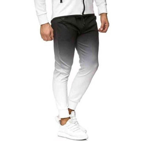 MANFLARE - Men's new fashion casual gradient sports trousers