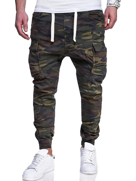 Men's fashion camouflage cargo pants