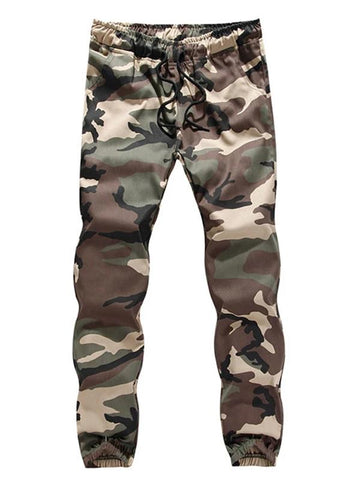 MANFLARE - Men's camouflage tooling trousers