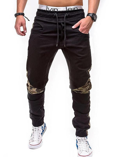 Men's casual fashion camouflage trousers
