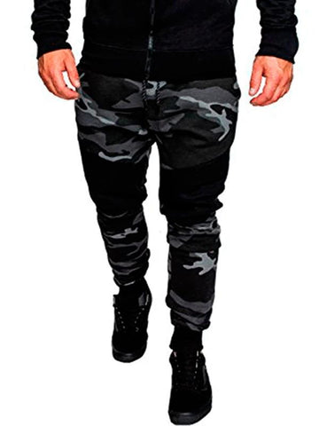 Men's sports casual fashion camouflage trousers