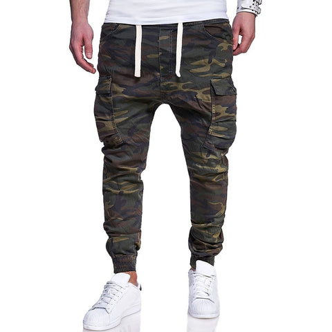 Mens fashion camouflage cargo pants
