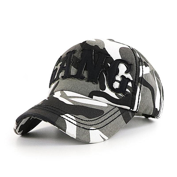 Mens casual outdoor climbing camouflage baseball cap