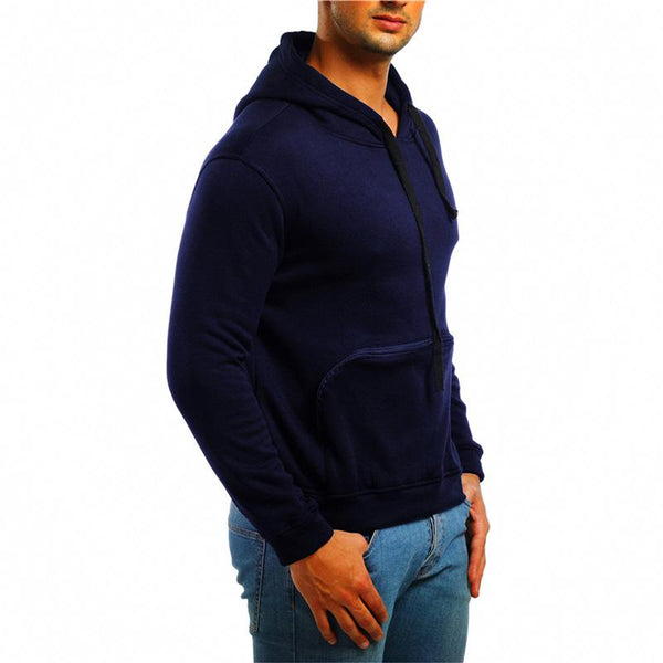 Men's embroidery armband casual long sleeve hoodies